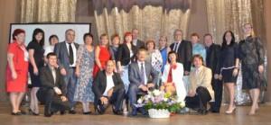 Наша команда Лидеров на Квалификационной встрече с Лидерами мирового уровня Марэком Буйвицки и Натальей Селиверстовой