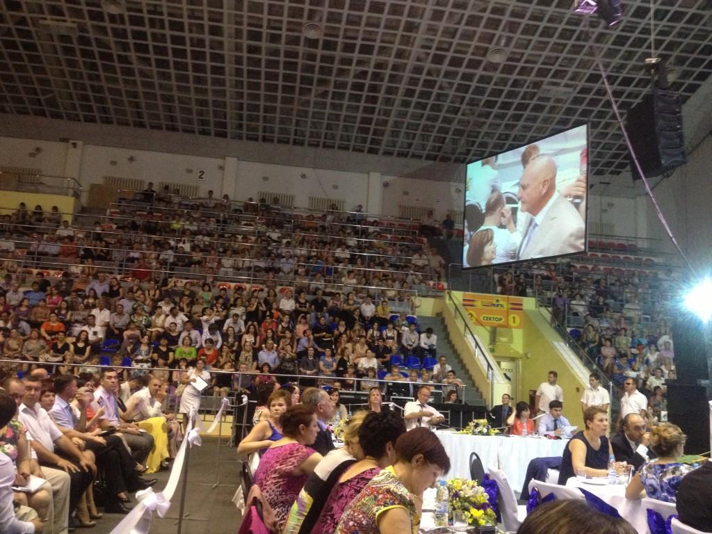 4000 человек на Форуме в Краснодаре. Июль 2013г.