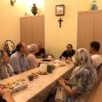 Во Всесвятском храме г. Краснодара состоялось заседание Клуба православного общения